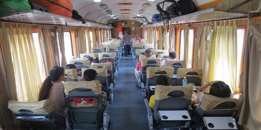 seats on Vietnam train tickets
