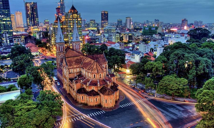 ho chi minh city - saigon in vietnam