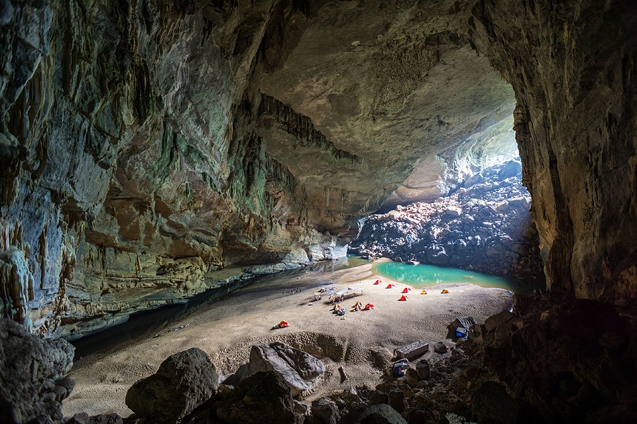 Phong Nha Caves- places to visit in vietnam