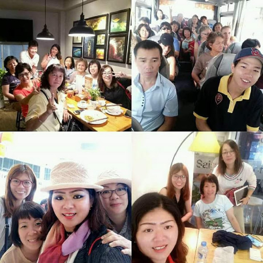group from Malaysia visit ho chi minh city