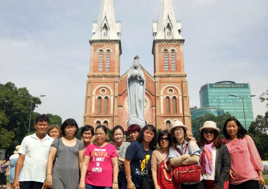 Group from Sibu, Sarawak, Malaysia tour to Ho Chi Minh city