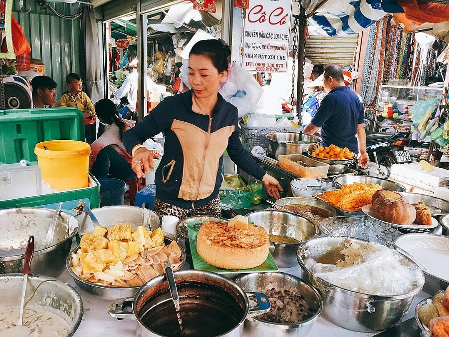 cambodian che - where to go to in saigon