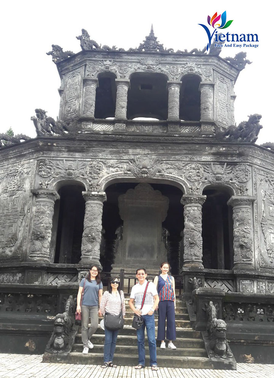 visit Hue during package tour to Danang Vietnam