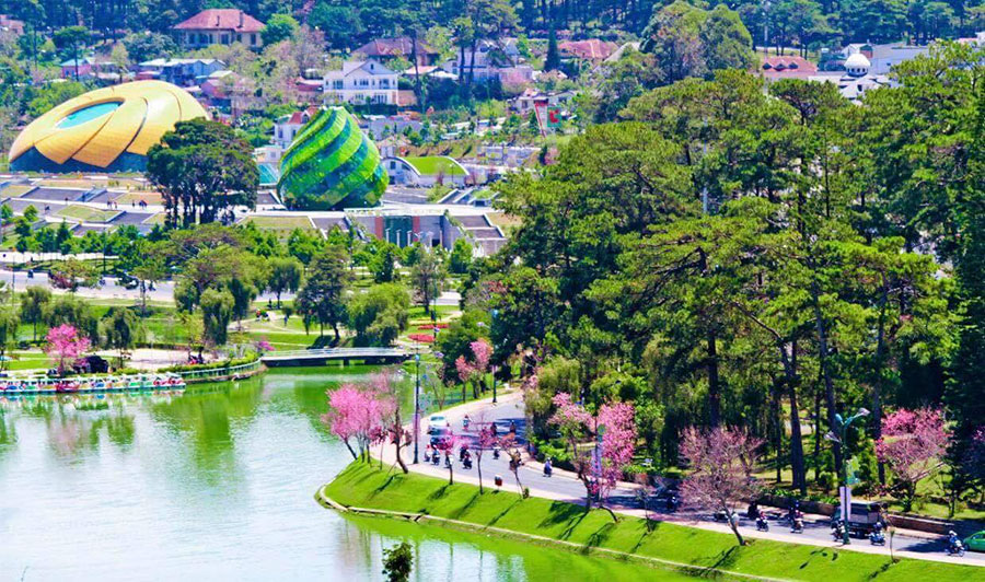 views of dalat tour package from ho chi minh