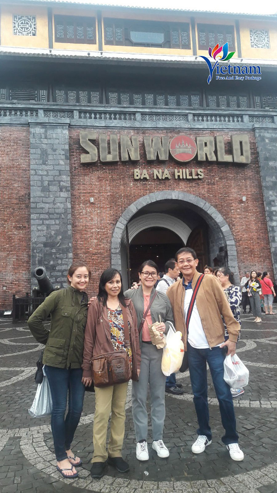 visit Ba Na hills from Danang package tour