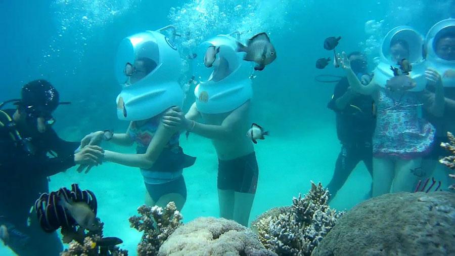 sea-walking tour Nha Trang