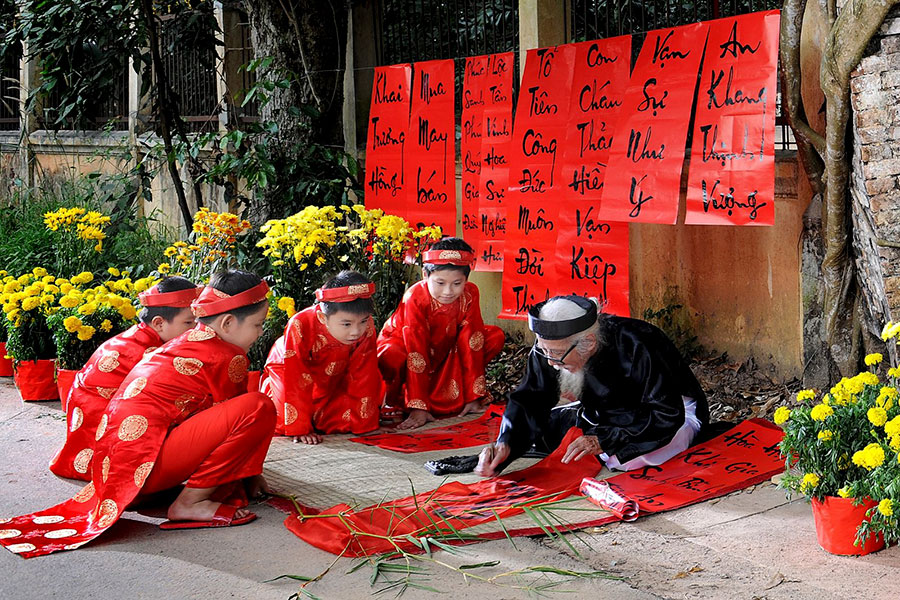 TET celebration during vietnam tour package 2021