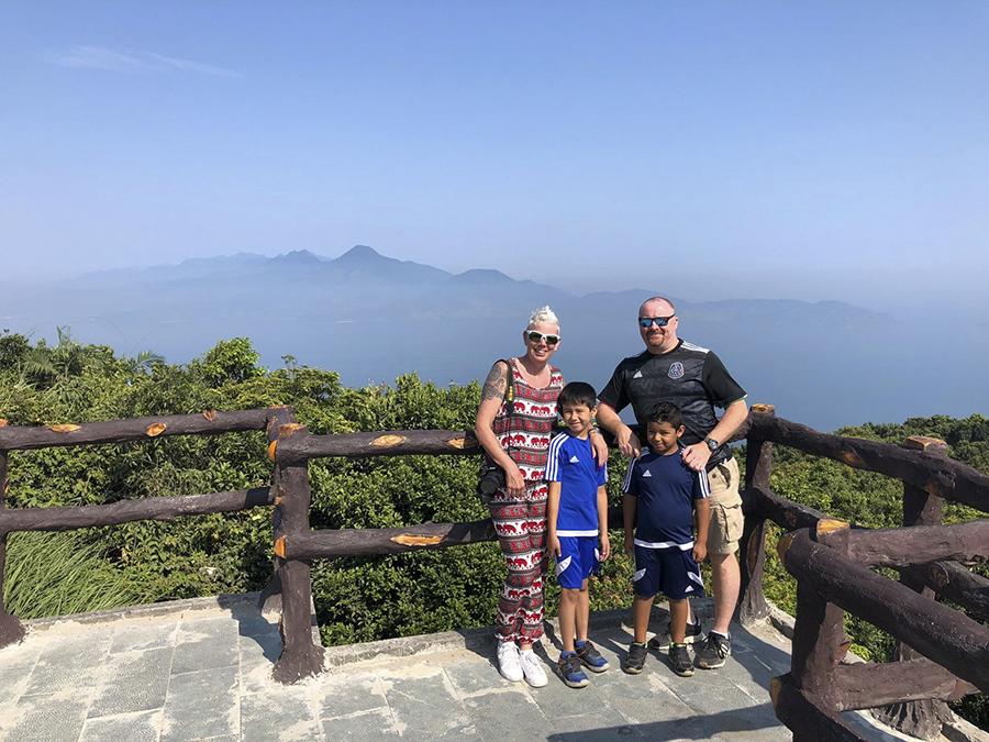tourist visit Son Tra, Danang